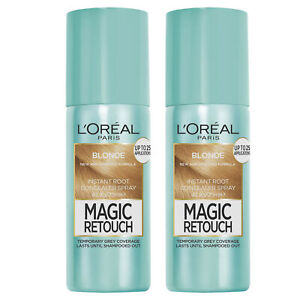 NEW L'Oreal Paris Magic Retouch Instant Temporary Root Concealer Spray Blonde...