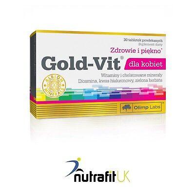 Liberale Olimp Gold Vit Dla Kobiet 30 Schede Complesso Vitaminico Minerali Donna-