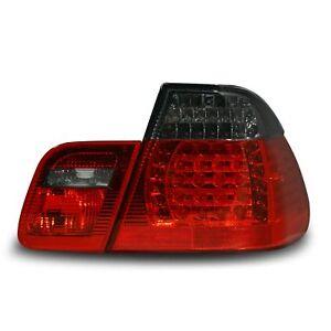 Original JOM LED Rückleuchten Schwarz SET für BMW E46 Limousine 05/1998-09/200<wbr/>1
