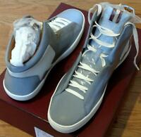 $525 Mens Authentic Bally etius High-top Sneakers Light Gray Us 10