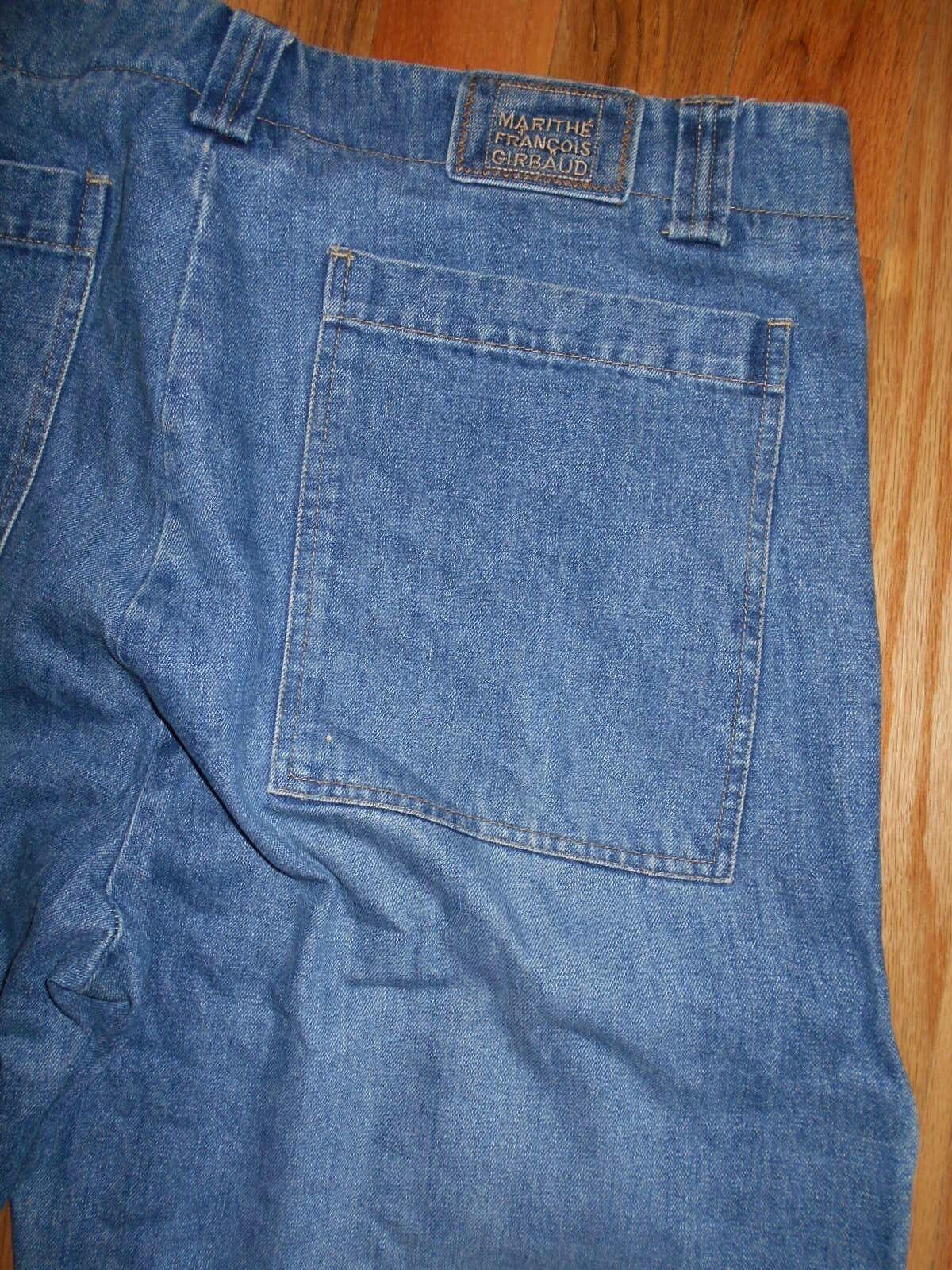 Jeans Mens 42x35 Marthe Francois Girbaud Cinch Leg bluee Denim Pants 6J134