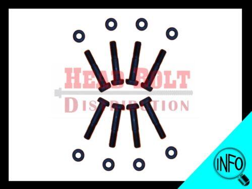 Fit Honda D16A6 D16Z6 D16Y B18A1 B18B1 B20B4 B20Z2 Connecting Rod Bolt Set 8mm