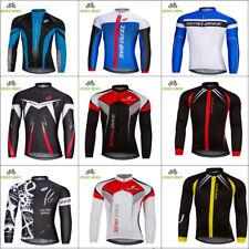 Men's Cycling Jerseys Clothing MTB Bicycle Sportswear Long Sleeve Bike Shirt Top