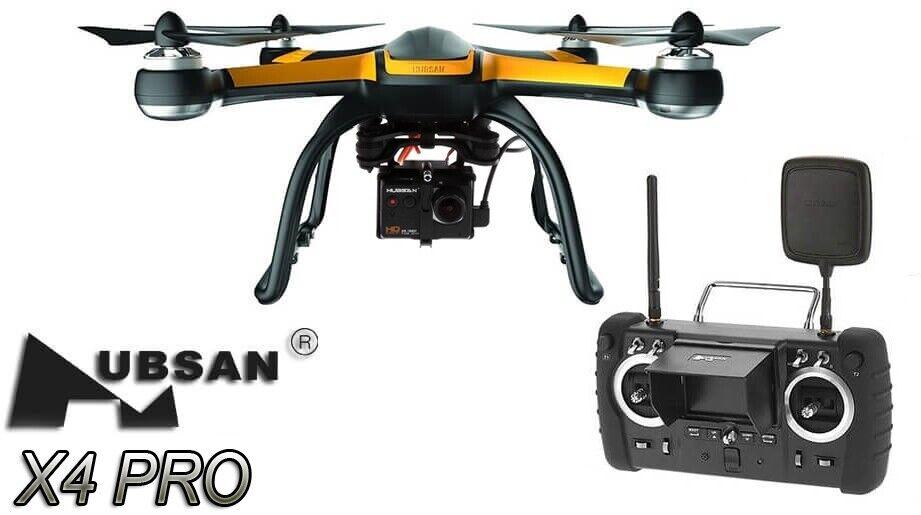 Hubsan X4 EDIZIONE FPV Pro Low Drone GPS, 1080P telecamera & Gyro con motore brushless