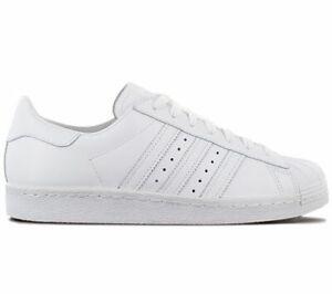adidas Superstar 80s HH W - Half Heart - CQ3009 Damen Sneaker Schuhe Weiß NEU