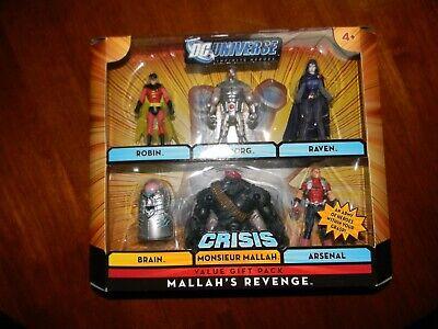 DC Universe Infinite Heroes Crisis Series Exclusive Action Figure 6Pack Omac 2 /&