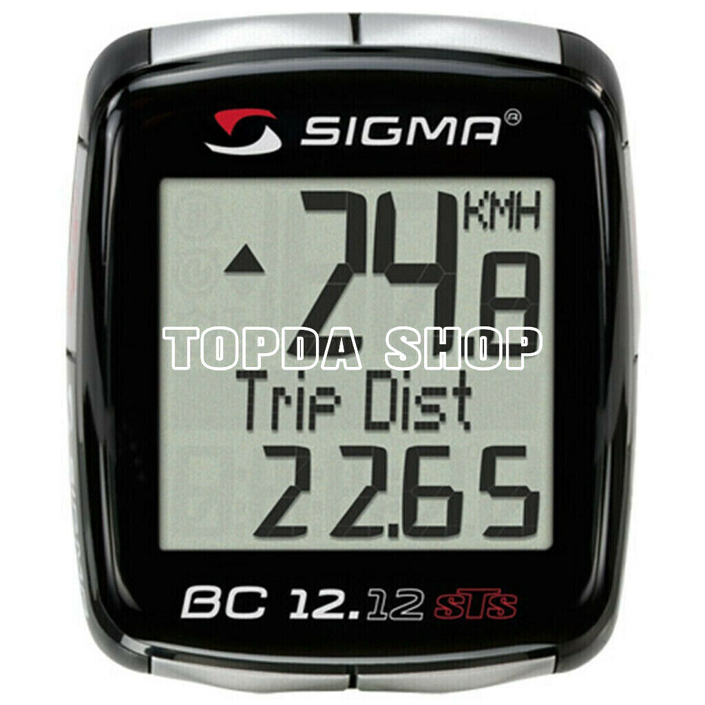 1PC SIGMA  BC12.12 wired Code table Bicycle speedometer  official quality