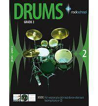 Better-Drums-with-Rockschool-Grade-2-Used-Good-Book