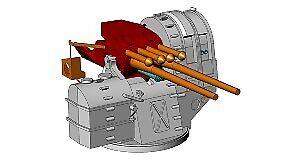 1  200 anti -luftfkonstygskonstilleri 127mm  40 typ 89 Yamato x6