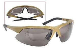 aec03e4158 Tactical Eyewear Kit Ballistic Safety Eye Shield w  Prescription ...