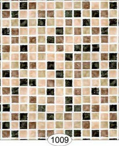 Dollhouse Wallpaper Mosaic Tile Black