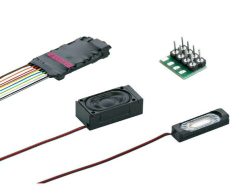 Märklin 60985 Sound Decoder msd3 8 pin con cablaggio locomotiva Sound h0