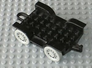 Chassis-LEGO-FABULAND-Black-Car-Chassis-4796c01-Set-3682-Fire-Station