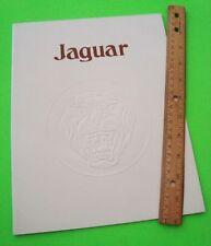 1978 JAGUAR XJ6 & XJ12 V-12 SEDANS DELUXE COLOR CATALOG Brochure 24-pgs XLNT+