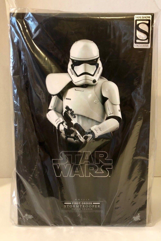 Hot Juguetes MMS316 Estrella Wars Stormtrooper escuadrón líder de primer orden