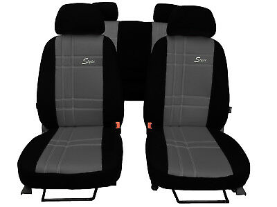 EcoLeather+Alicante Tailored Set Seat Covers VOLKSWAGEN PASSAT B8 2015-on sedan