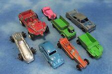Vintage Lot of 8 Tootsie Toys Cars and Trucks