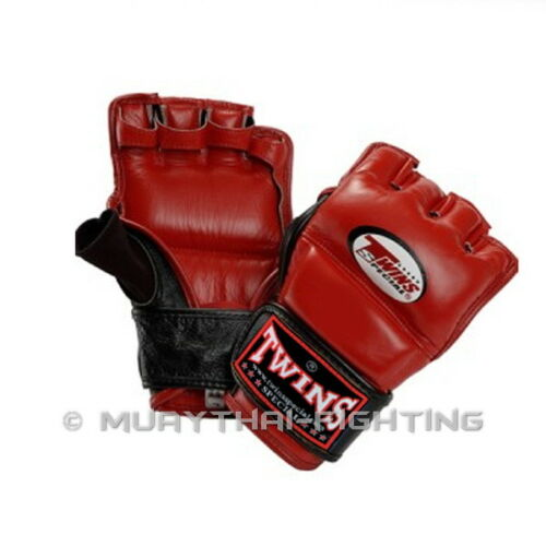 Twins Special Grappling Gloves Muay Thai Boxing  MMA GGL-3