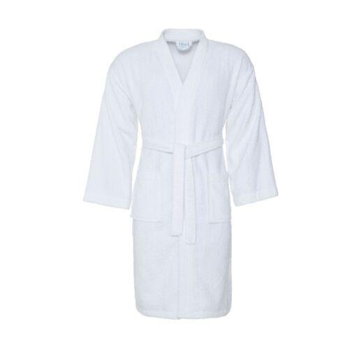 Adult Men Women 100/% Cotton Bath Robe Towelling Dressing Gown Soft Towel Kimono