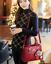 Women PU Leather Tote Bags Crossbody Handbags Shoulder Purse Messenger Satchel