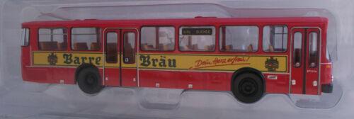 Brekina Linienbus Mercedes Benz O 307 Bahnbus Bundesbahn Barre Bräu 1//87