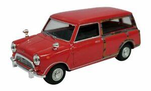 Mini-Traveller-Van-Red-Classic-Diecast-Model-1-43-Scale-Cararama-NEW