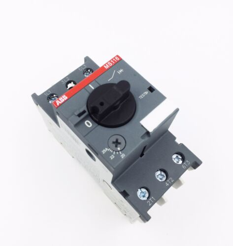 ABB MS116-16 Manual Motor Starter 10-16A 1SAM250000R1011