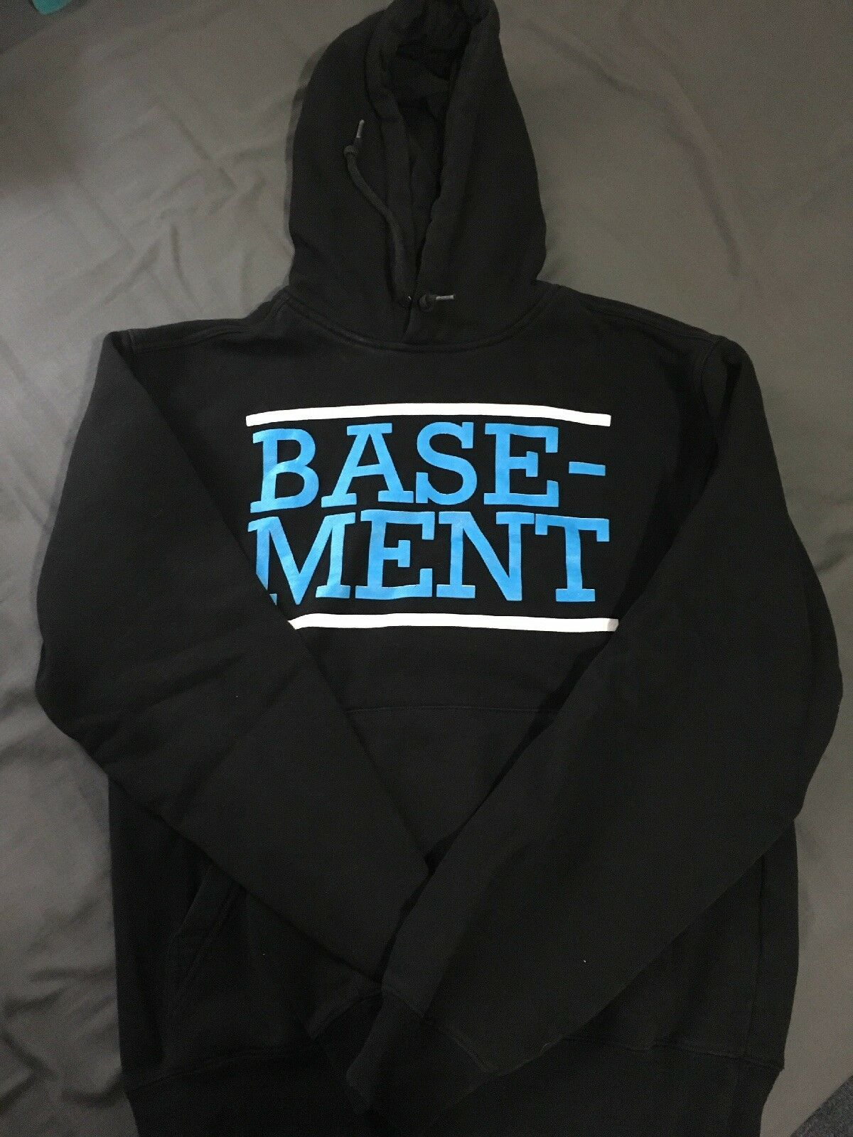 Basement Hoodie title fight tigers jaw