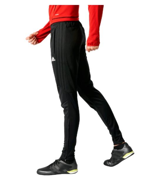 adidas Climacool Tiro 17 Soccer Training Pants Black Pockets BK0350 Womens M