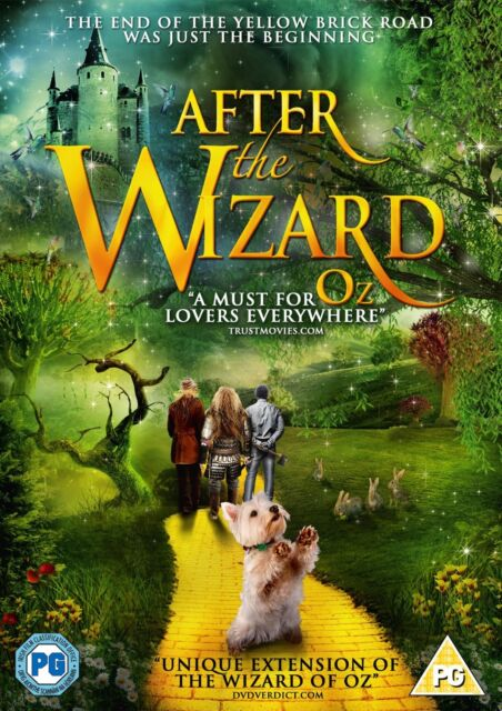 After The Wizard (DVD) (NEW AND SEALED) (REGION 2) (FREE POST)