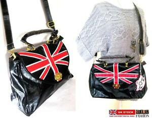 Image Is Loading Union Jack Handbag Cross Body Bag British Flag