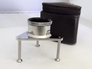 Sweet-Tempered Monocolo Trepiedi Lente Appoggio Tavolo Tripod Magnifier 10x Ingrandimenti Watch Parts, Tools & Guides