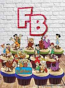 Phenomenal Flintstones Fred Barney Wilma Mix Edible Wafer Cake Toppers Personalised Birthday Cards Xaembasilily Jamesorg