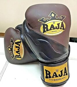 43692c2f0 NEW RAJA AIR PREMIUM BROWN BLACK MARTIAL ARTS MUAY THAI BOXING ...