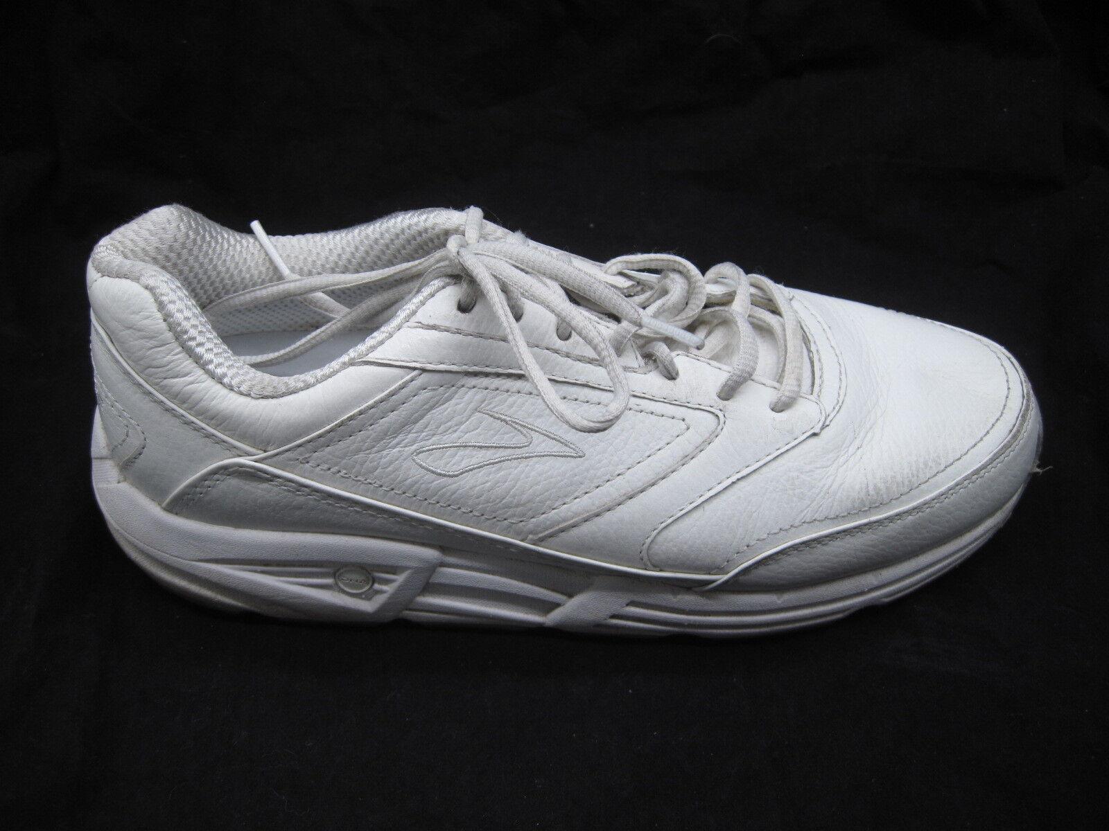 Brooks Addiction Walker bianca walking Uomo athletic tennis tennis tennis scarpe 10D 2017 86ed98