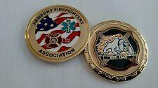 Newport Firefighter's Association Challenge Coin