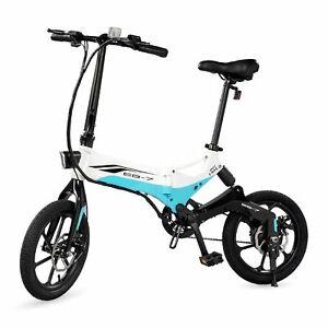 Refurbished Swagcycle EB-7 Folding Electric Bike Lithium-ion Battery 350W Motor