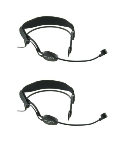2 Set Noise Cancelling Headset Mic for Peavey Mipro XLR RoHs Electret Condenser