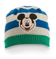 Disney Store Authentic Mickey Mouse Knit Beanie Toddler Hat Size 12-18 Months
