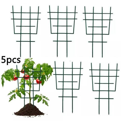 5XPlant Garden Trellis Net Plant Flower Vines Fence Climbing Stand Support SET