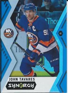 2017-18-Upper-Deck-Synergy-JOHN-TAVARES-Blue-Parallel-7-New-York-Islanders