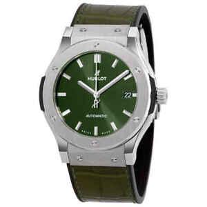 Hublot Classic Fusion Automatic Green Dial Men's Watch 511.NX.8970.LR