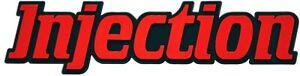Auto-3D-Relief-Schild-Injection-Einspritzung-14-cm-Emblem-HR-14846-selbstklebend