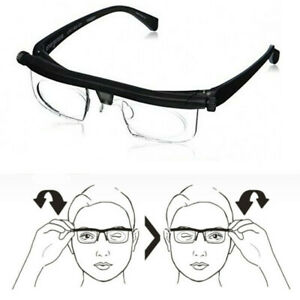 Focus Adjustable Glasses Reading Glasses Unisex -3 to +6 Diopters Myopia Glasses