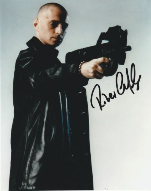 James Bond Robert Carlyle  Autographed Signed 8x10 Photo C