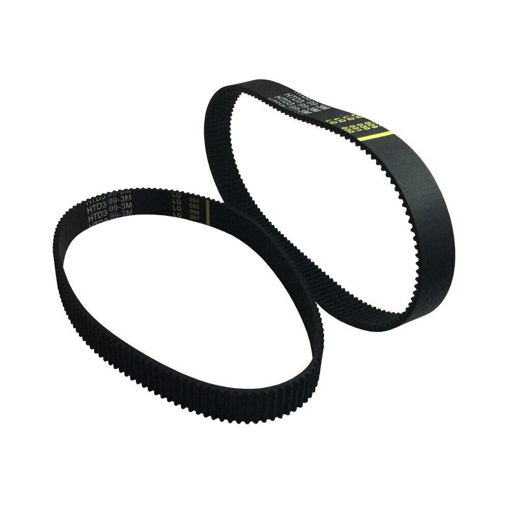 HTD3M Timing Belt Closed-loop Width 6 10 15 mm Pitch 3mm Length 111~297mm 1PCS