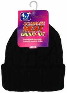 Black-Ladies-Ultimate-Heat-4-7-Tog-Thermal-Fully-Sherpa-Fleece-Insulated-Hats