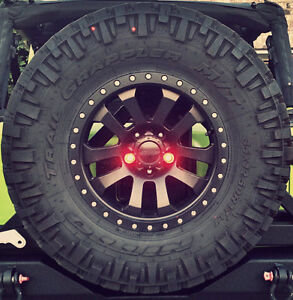 Jeep Spare Tire Lug Led Third Brake Light Kit Wrangler