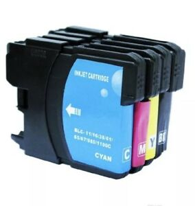 1-set-4x-LC-67-LC-38-INK-CARTRIDGES-BK-C-M-Y-for-BROTHER-MFC5490-6490-J615