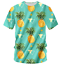 Funny Cool Short Sleeve Print Pineapple 3D shirt Men Women Fashion Size S 7XL